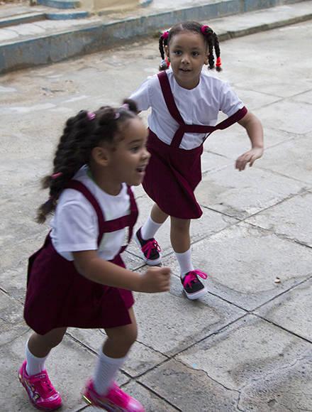 Juegos desde el primer día. Foto: Ladyrene Pérez/ Cubadebate.