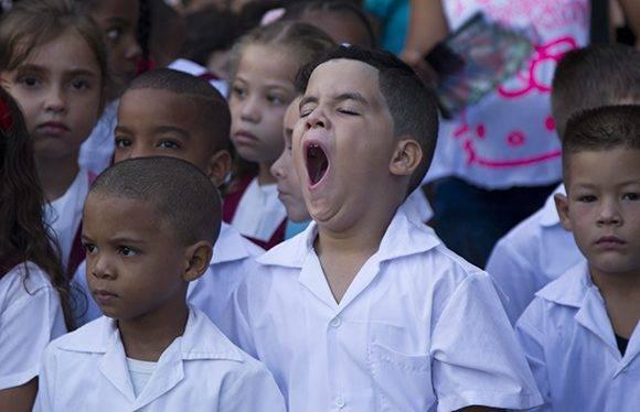 Comenzó en Cuba el curso escolar 2016-2017. Foto: Ladyrene Pérez/ Cubadebate.