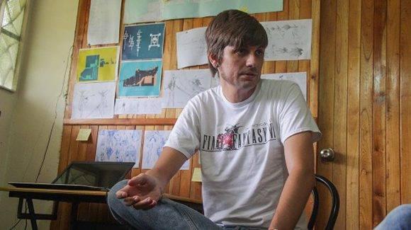 Josuhe Pagliery, director y diseñdor del videojuego. Foto: David Vázquez/ Cachivache Media.