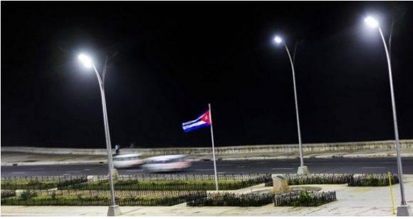 Lámparas LED en La Habana Foto Cubahora