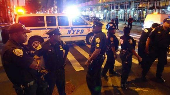La Policía y el FBI llegaron a la zona donde ocurrió el estallido. Foto: AFP / William Edwards