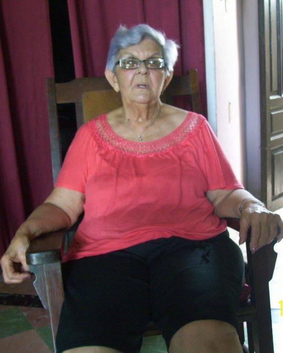 Elvira Siso, directora fundadora de la Vocacional de Camagüey. Foto: Adelante