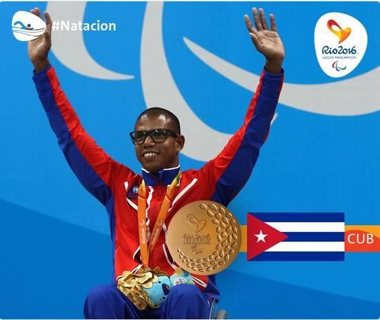 Cuba se despidió competitivamente de los Paralímpicos con otros 4 Oros y un récord