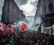 La Plaza de Mayo fue repletada para protestar contra las políticas de Mauricio Macri. Foto: Kaloian/ Cubadebate.