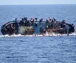 Migrantes en el Mediterráneo