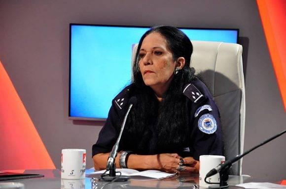 Msc. Wadalupe Rodríguez Rodríguez, Directora de Planeamiento Dirección General de Transporte La Habana.