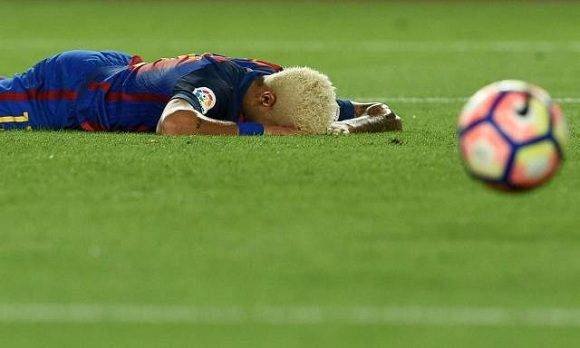 El FC Barcelona desciende al 4to puesto. Foto: AFP/ Lluis Gene.