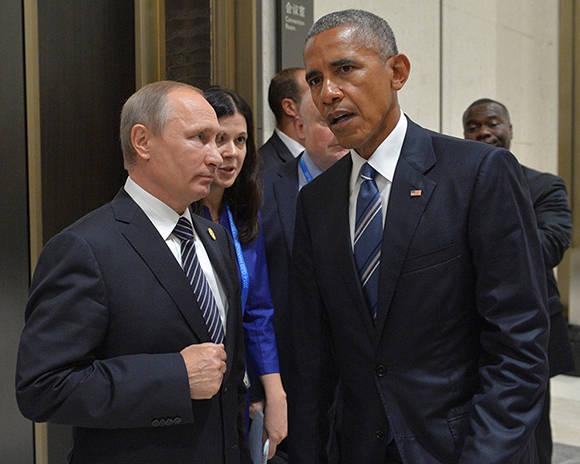Putin y Obama no llegaron a un acuerdo sobre Siria en Cumbre G-20