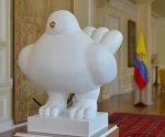 Paloma por la paz de Colombia