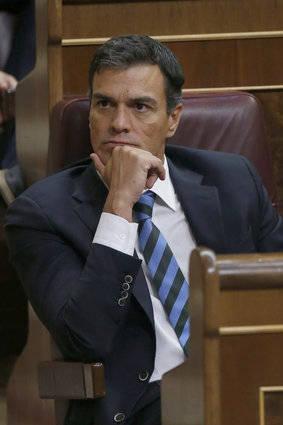 Pedro Sánchez, líder del PSOE reitera su negativa a permitir un gobierno de Rajoy. Foto: EFE.