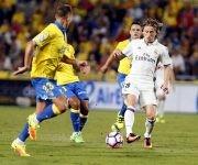 Real Madrid empata Palmas