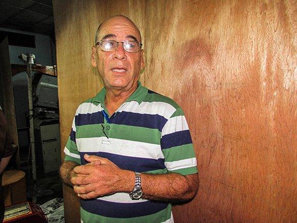 Roy Villanueva, director de la Distribuidora Nacional del ICAIC. Foto: Aynel Martínez/Cubadebate.