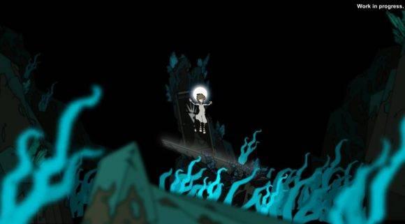 """En """"Savior"""", el personaje principal se despierta y ve que su mundo está colapsando. Imagen tomada de """"Savior""""."""