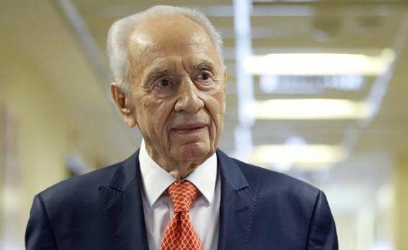 El político israelí, Shimon Peres, fañlleció a los 93 años. Foto: Archivo/ El Universal.
