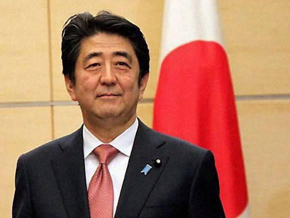 Shinzo Abe, primir ministro de Japón llega mañana a Cuba