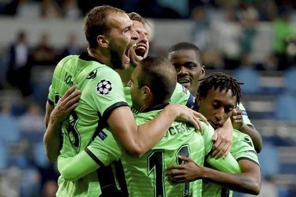 El Sporting soñó con una victoria en el Bernabéu, pero campeón despertó en los minutos finales.