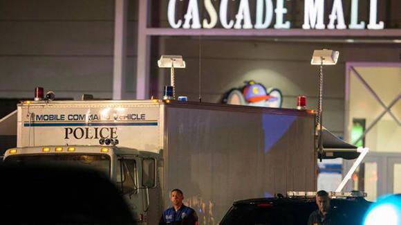 Tiroteo en centro comercial de Washington deja 5 muertos. Foto: AP