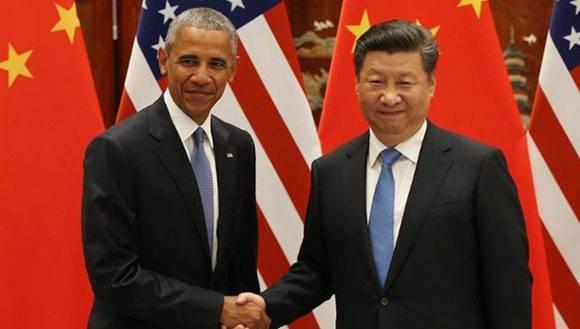 Xi Jinping y Barack Obama ratifican acuerdo. Foto: EFE.