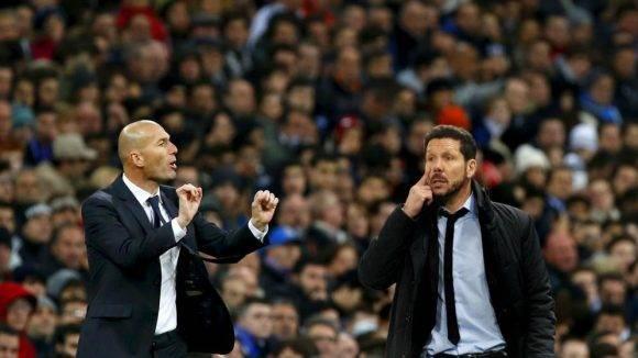 Zidane y Simeone. Foto tomada de El Confidencial.
