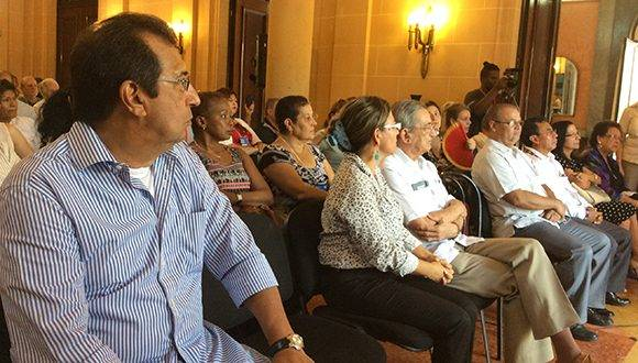 Adán Chávez Frías, Gobernador del Estado Venezolano Barinas, participa del Seminario, donde tendrá una intervención especial: Foto: María del Carmen Ramón/ Cubadebate.