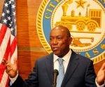Alcalde de Houston Sylvester Turner. Foto: Houston Chronicle.