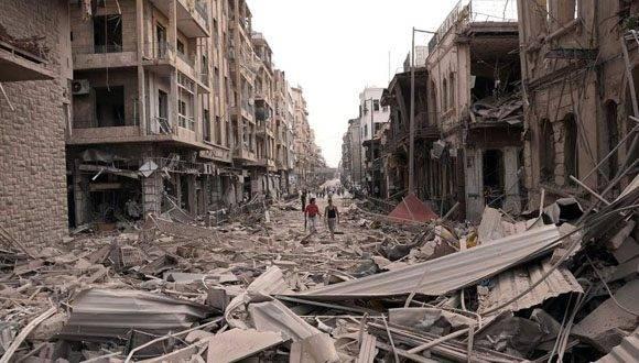 La Ciudad de Alepo ha sido una de las más devastadas por la guerra en Siria. Foto: Archivo.