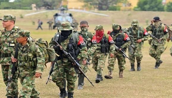 ELN decreta paro armado de 72 horas. Foto: Pacifista-Pares.