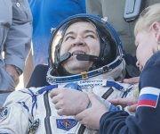 Los tres tripulantes volvieron después de cumplir una misión de seis meses a bordo de la Estación Espacial Internacional (EEI). Foto: Twitter Estación Interespacial.