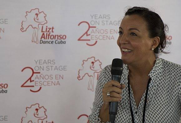 Lizt Alfonso, Directora de la compañía. Foto: Ladyrene Pérez/ Cubadebate.