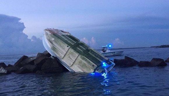 Así fue hallado el bote en el que tuvo el trágico accidente marítimo José Fernández.