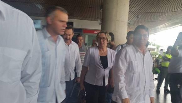 Canciller Bruno Rodríguez ya está en Cartagena para firma de la paz