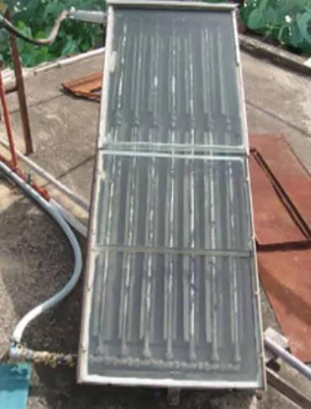 calentador solar híbrido