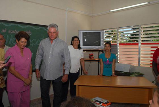 óvenes de preuniversitario y secundaria básica recibirán clases en el nuevo centro. Foto: Jaliosky Ajete