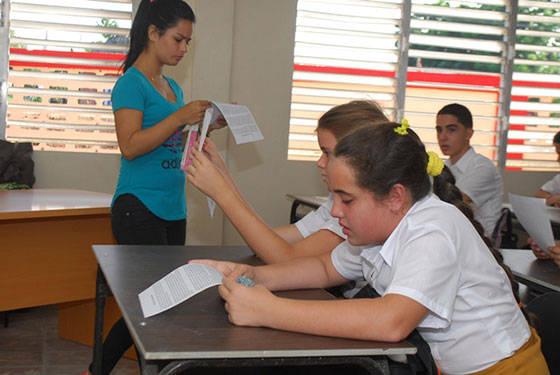 Jóvenes de preuniversitario y secundaria básica recibirán clases en el nuevo centro. Foto: Jaliosky Ajete