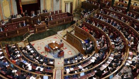Sede del Congreso español. Foto: Archivo.