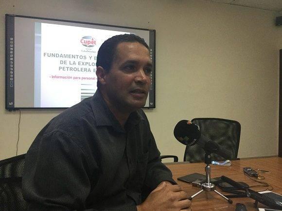 Osvaldo López Corzo, jefe de exploración de Cupet. Foto: María del Carmen Ramón/ Cubadebate.