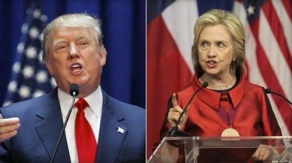 Donald Trump y Hillary Clinton. Foto tomada de rall.com.