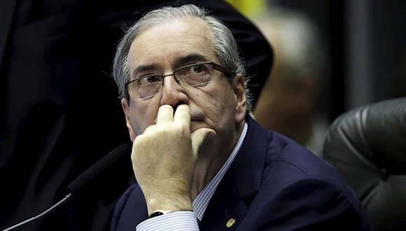 Eduardo Cunha, artífice del impeachment contra Dilma Rousseff. Foto: Reuters.