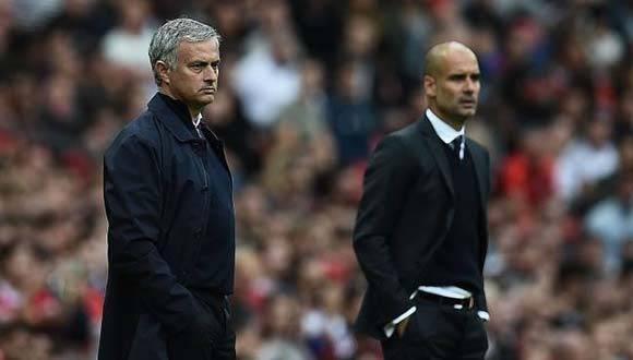 Guardiola le ganó el duelo a Mourinho. Foto: AP.