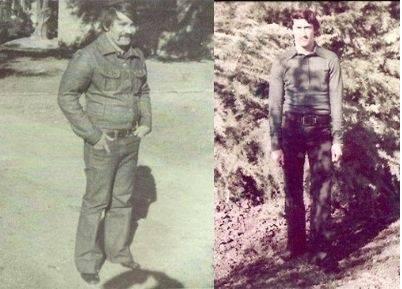 Los diplomáticos cubanos Jesús Cejas Arias y Crescencio Galañena Hernández. Foto: Archivo.