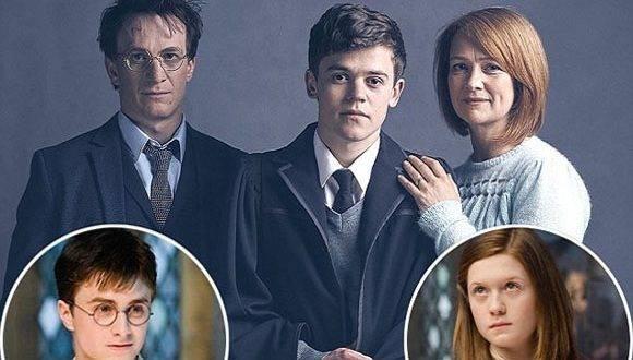 Así lucen Harry Potter y Ginny Weasley en esta nueva obra que da continuidad a la saga. Foto: ZonaCero.