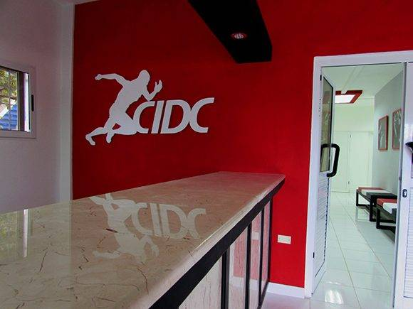 Recepción del centro. Foto: Cinthya García/Cubadebate.