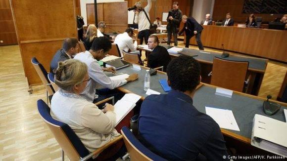 Sesión del juicio a voleibolistas. Foto: Getty Images
