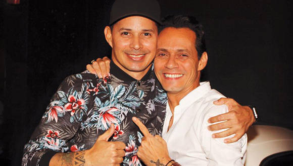 leoni torres y marc anthony