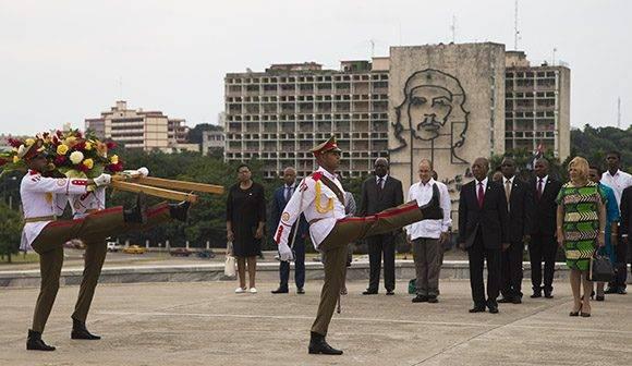 Recibimiento del Primer Ministro de Lesotho. Foto: Ismael Francisco/Cubadebate.
