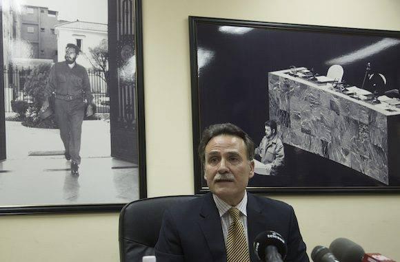 Gustavo Machín, subdirector general de EEUU de la Cancillería cubana. Foto: Ismael Francisco/ Cubadebate