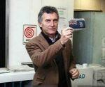 Mauricio Macri, más cerca de los intereses británicos que de la soberanía Argentina. Foto: Archivo.