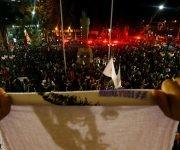 Una manifestación a favor de Dilma Rousseff en Río de Janeiro. Foto: Ricardo Moraes/ Reuters.