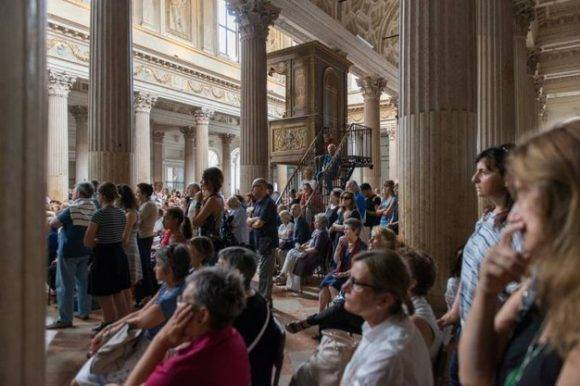 Al Festival Internacional de Literatura de Mantua asistieron unos 130 000 personas. La cifra casi triplica la población del lugar.