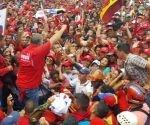 El pueblo venezolano se movilizará hoy en defensa de la Revolución Bolivariana. Foto: TelesurTV.